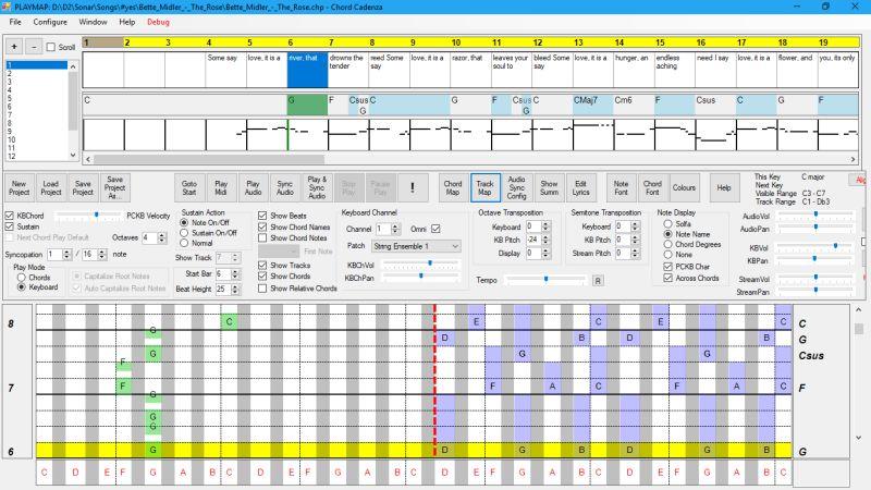 Click to view Chord Cadenza 2.13.0.0 screenshot